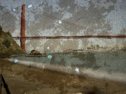 Abelardo Morell, View of the Golden Gate Bridge From Kirby Cove, 2012