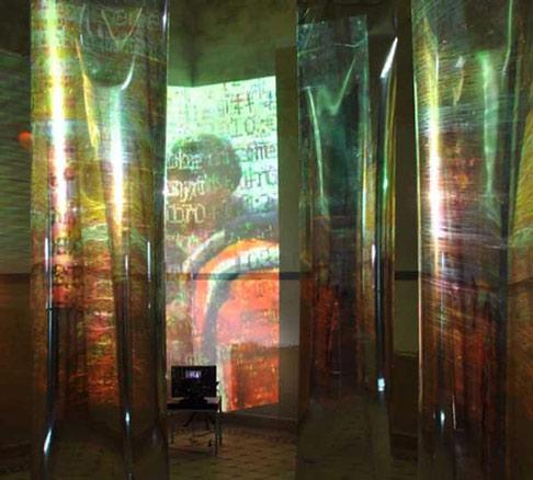 Antonio Alvarado, Instalación El excursionista indeciso, 2010