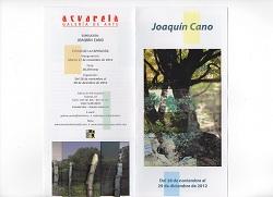 Exposicion Joaquin Cano