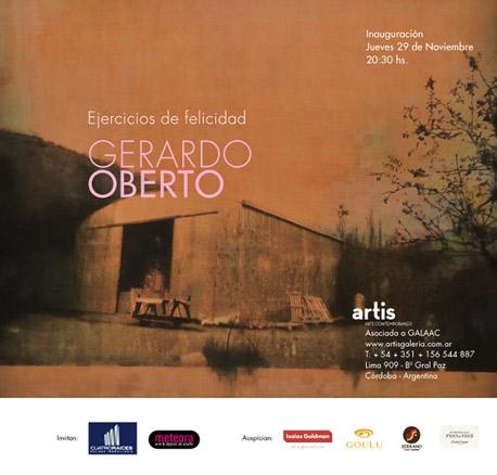 Gerardo Oberto, Ejercicios de felicidad