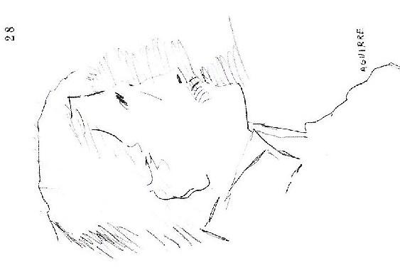 Dibujo. Lápiz o boligrafo s. papel 1971-2000