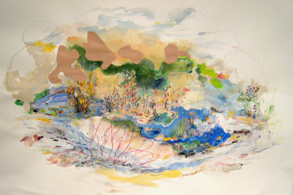 Sue Chenoweth, Journey Towards Siberia Well, 2010