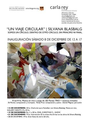 Silvana Blasbalg, Un Viaje Circular