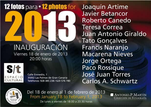 12 fotos para 2013