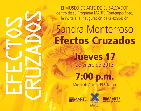 Sandra Monterroso, Efectos Cruzados