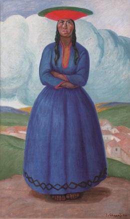 José Sabogal, La mujer del varayoc, 1926
