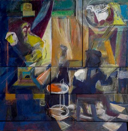 Júlio Pomar, Diálogo entre a pintura e o real imaginado, 2012