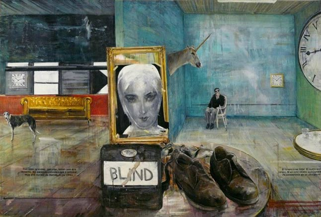 Eduardo Gruber, Blind, 2012