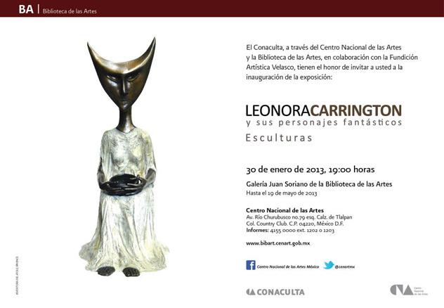 Leonora Carrington y sus personajes fantásticos