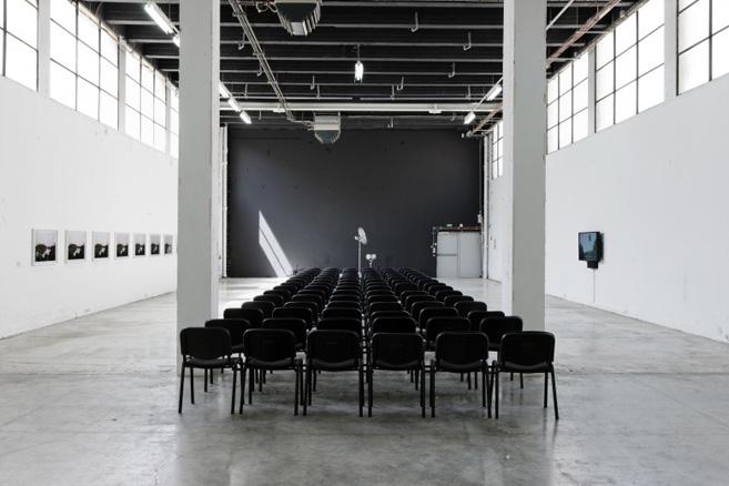 Vista de la exposición de Fernando Ortega