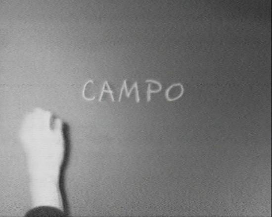 Regina Silveira, still from Campo -Field-, 1976
