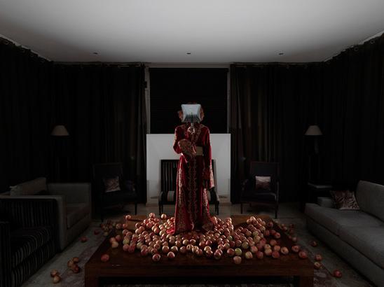Amina Benbouchta, Rabbit Hole 05, 2012