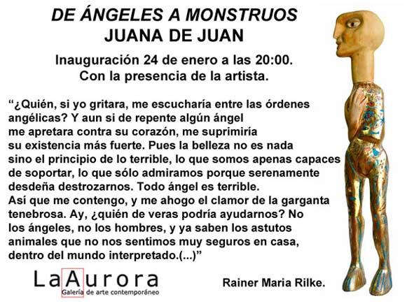 Juana de Juan, De Ángeles a Monstruos