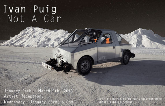 Ivan Puig, Not A Car