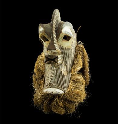 Máscara Songye procedente de Rep. Dem. del Congo