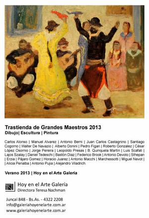Trastienda de Grandes Maestros 2013