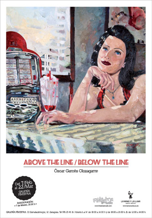 Óscar Garcés Olozagarre, Above the line - below the line