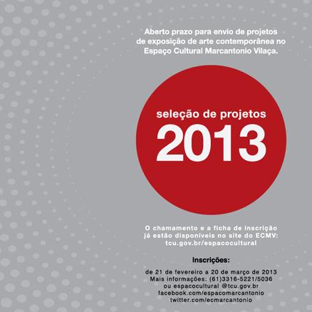 Seleção de projetos 2013