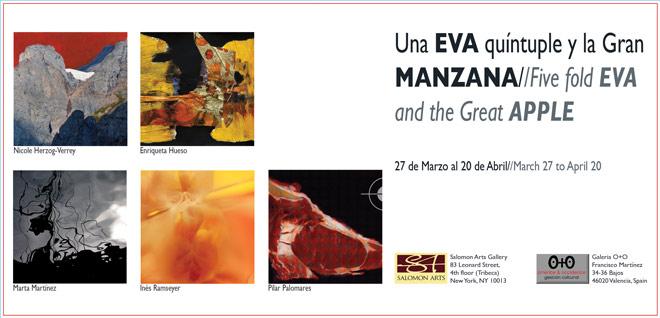 Una Eva quíntuple y la Gran Manzana -- Five fold Eva and the Great Apple