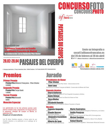 Concurso de Fotografía Alliance Française - Fundación Pilar Citoler 2013 Paisaj