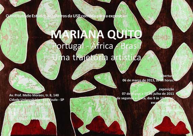 Mariana Quito, Portugal - África - Brasil. Uma trajetória artística