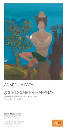 Anabella Papa, Qué ocurrirá mañana