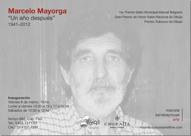 Marcelo Mayorga ´Un año después´ 1941-2012