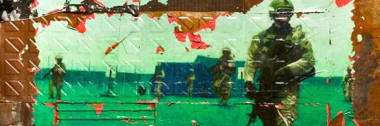 Dora Longo Bahia, Escalpo ferrado, 2009