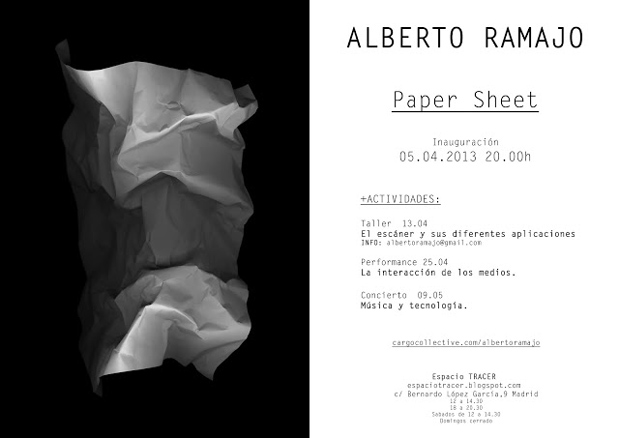 Alberto Ramajo, Paper Sheet