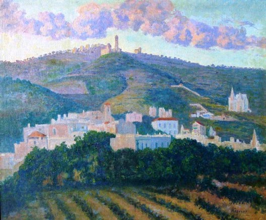 Darío de Regoyos, Tibidabo, 1912