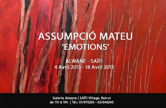 Assumpció Mateu, Emotions
