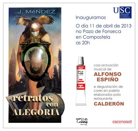 J. Méndez, Retratos con alegoría