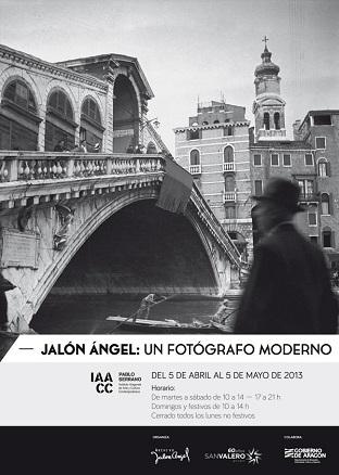 Jalón Ángel. Un fotógrafo moderno