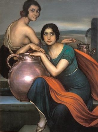 Julio Romero de Torres, Las hermanas de Santa Marina, 1925