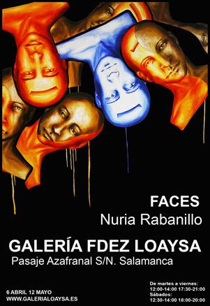 Nuria Rabanillo, Faces