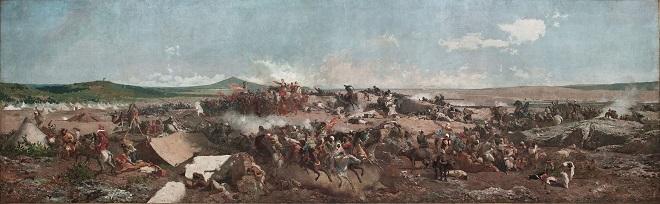 Mariano Fortuny, La batalla de Tetuán
