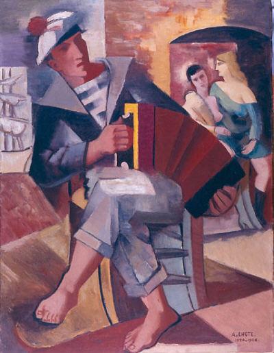 Marin à l'accordéon, 1920-26