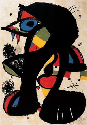 Joan Miró, Incisiva, 1979