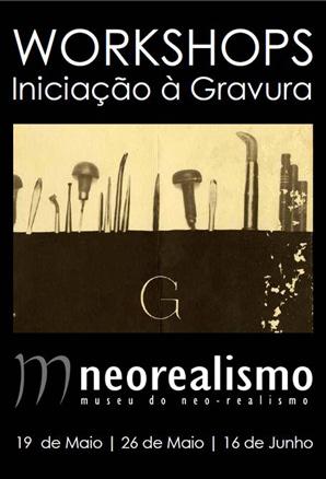 Workshops de Iniciação à Gravura