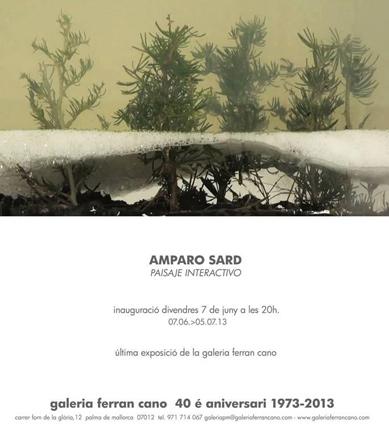 Amparo Sard, Paisaje interactivo