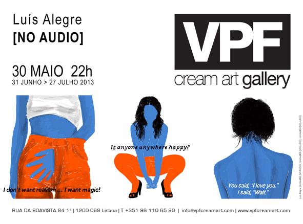Luis Alegre, No audio