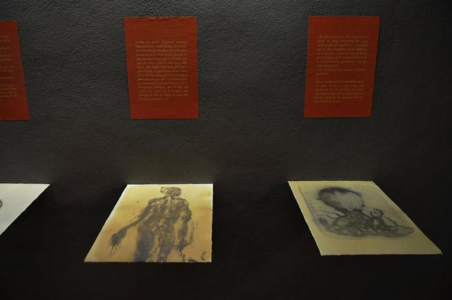 Miquel Barceló en el Museu Regional d´Artà