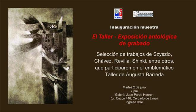 El Taller. Exposición antológica de grabado