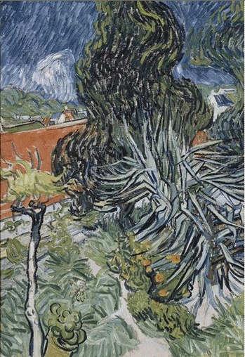 Vincent Van Gogh, Dans le jardin du docteur Paul Gachet, 1890