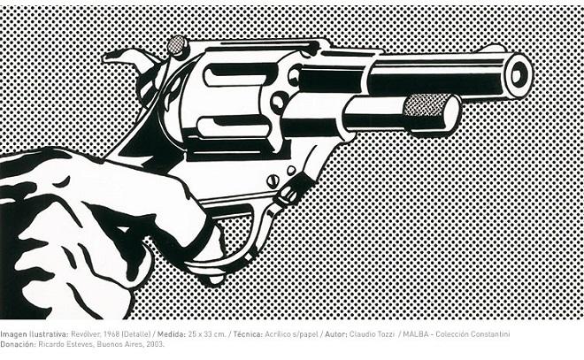Claudio Tozzi, Revólver -detalle-, 1968