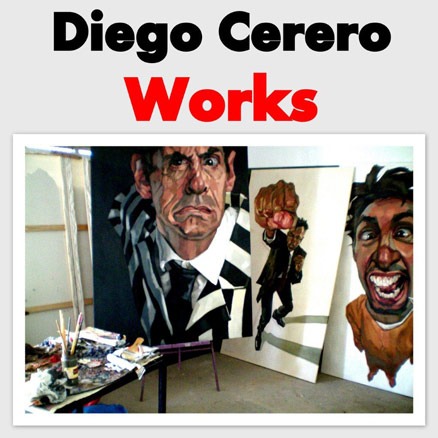 Diego Cerero, Works