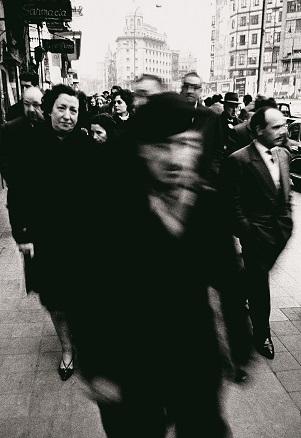 Xavier Miserachs, Calle Pelayo, Barcelona, 1962