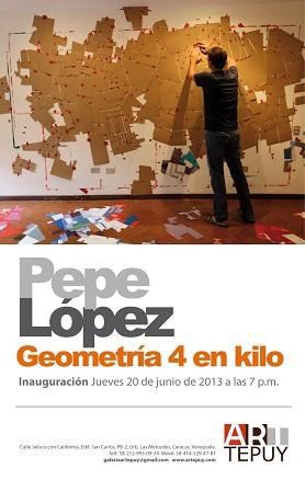 Pepe López, Geometría 4 en Kilo
