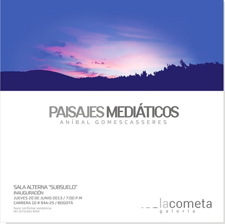 Anibal Gomescasseres, Paisajes mediáticos