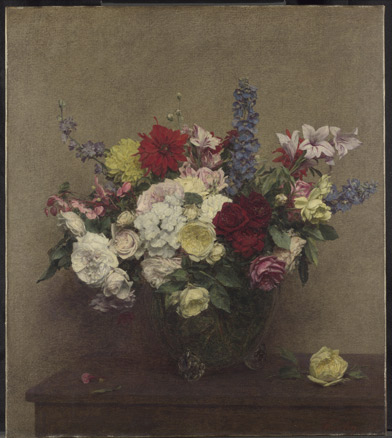 Ignace-Henri-Théodore Fantin-Latour, The Rosy Wealth of June, 1886